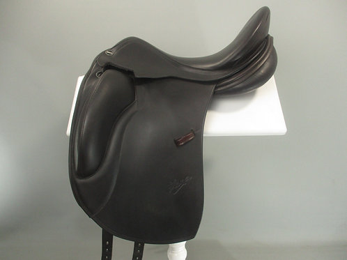"Erreplus Elena Dressage Saddle 17"" W BROWN"