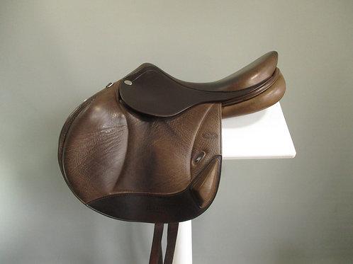 "Hoy Davey Monoflap Jump Saddle 17"" M"