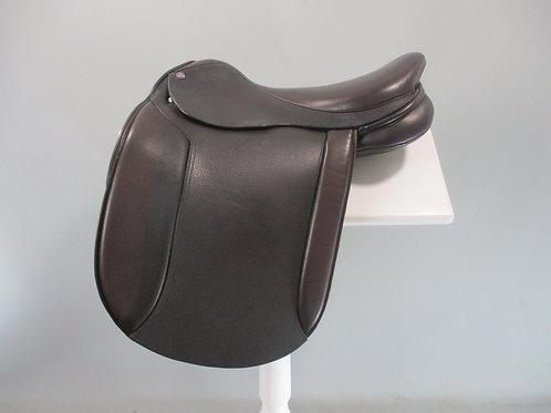 "Cavaletti Show Saddle 17"" BROWN"