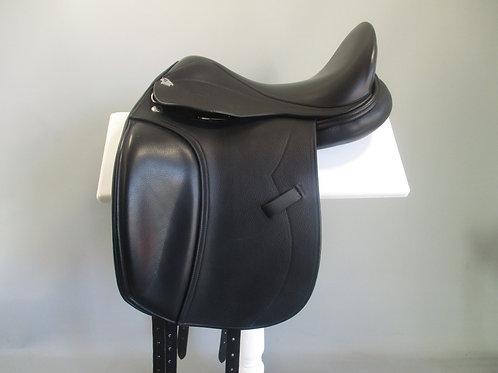 "Harry Dabbs Elegant Avant Dressage Saddle 17""/16.5"" XW"
