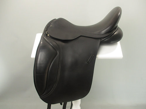 "Jeremy Rudge Remy Dressage Saddle 17.5"" XW"