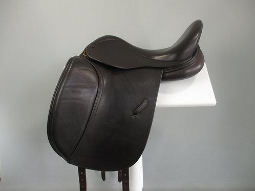 "Harry Dabbs Elegant XF Dressage Saddle 16.5"" XW"