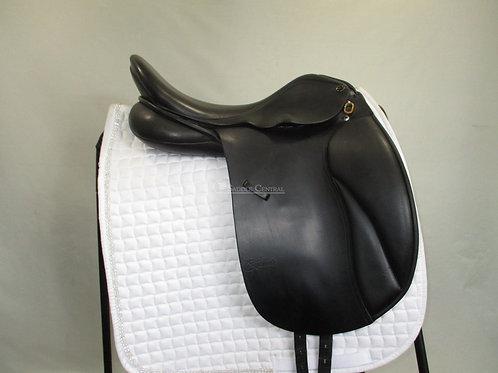 """Trainers Jessica 17.5"""" Dressage Saddle"""