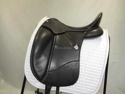"Bates Isabell Werth 17.5"" Dressage Saddle"