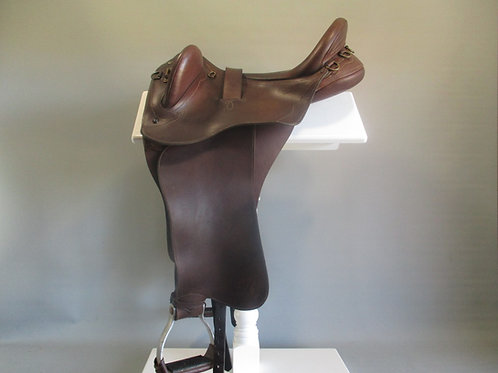 Bates Kimberley Fender Stock Saddle  Large