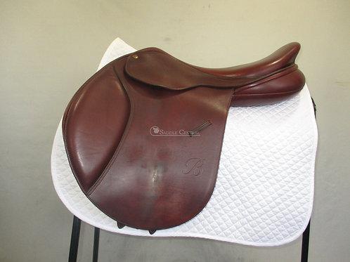 "Bates Caprilli Jump Saddle 17.5"""