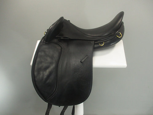 "Harry Dabbs Jaguar Dressage / Endurance Saddle 17.5"" MW"