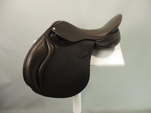 "Loxley Foxhunter Jump Saddle 17"""