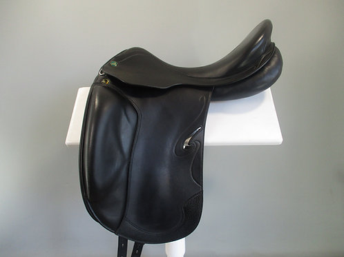"Prestige Passion K Dressage Saddle 17"" MW-W"