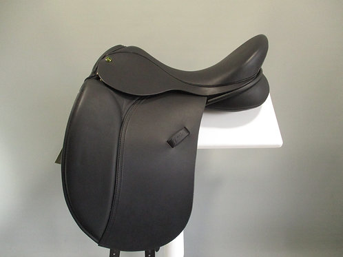 "Ideal Jessica Dressage Saddle 17"" W-XXW"