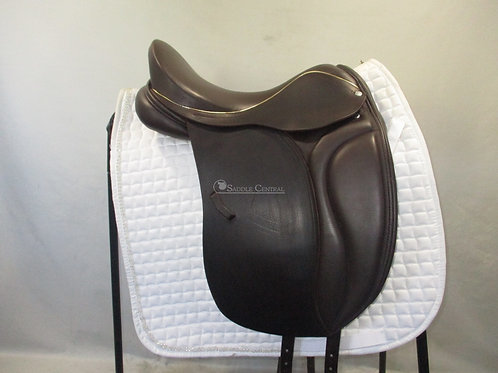 """Loxley by Bliss Dressage Saddle 17"""" with Compact Panels"""