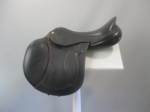 "Peter Horobin Melbourne SF Jump saddle 16.5"" M"