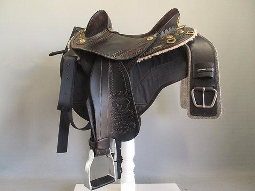 James Saddlery Colt Flex Endurance Half Breed Saddle
