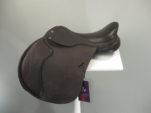 "Cavaletti GP Saddle 16.5"" BROWN"