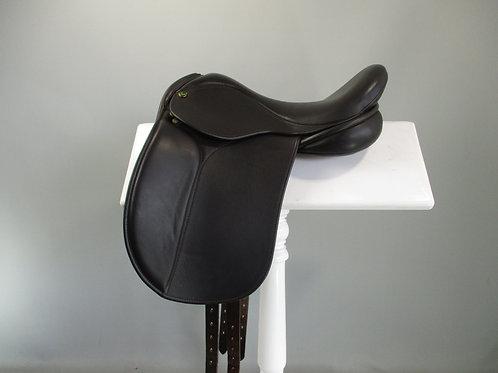 """Ideal Pony Dressage/Show Saddle 15"""" XW BROWN"""