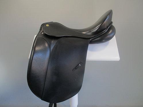 """Otto Schumacher Comfort Dressage saddle 17"""" XW"""