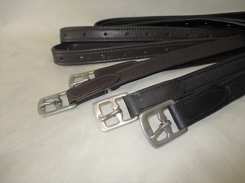 Soft English Stirrup Leathers  130cm, 140cm, 150cm, 160cm