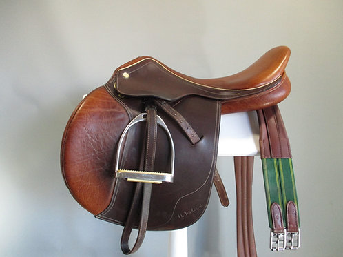 """Marcel Toulouse Jump Saddle 17.5"""" MW-W"""