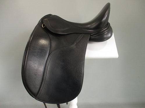 """Peter Horobin Geneva Dressage Saddle 17"""" MW"""