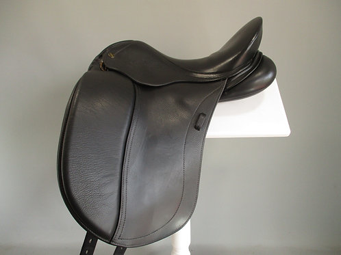 "Peter Horobin Freedom Liberty Dressage Saddle 17"" W/XW"