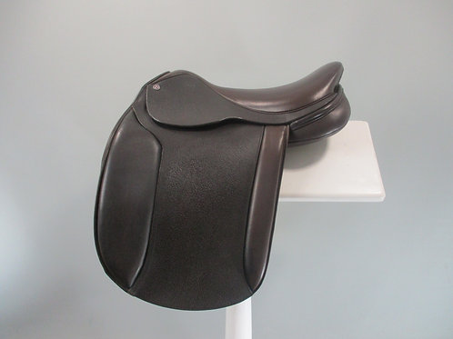 "Cavaletti Show Saddle 16"" BROWN"