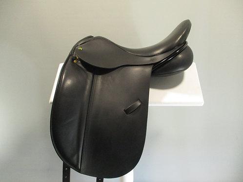 "Ideal Stuttgart Dressage Saddle 17"" W"