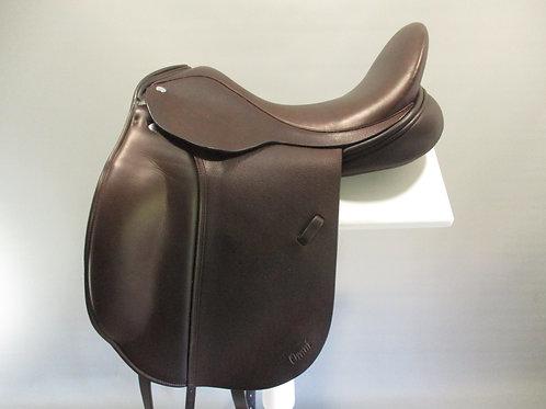 "Frank Baines Omni Dressage Saddle 17.5"" XXW"