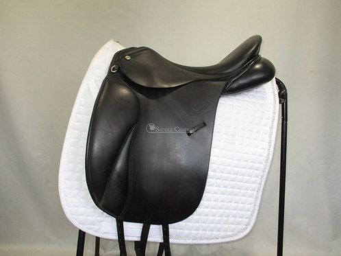 "Trainers Jessica 17"" Dressage Saddle"