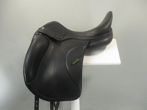 """Amerigo Cervia Dressage Saddle 17.5"""" MW"""