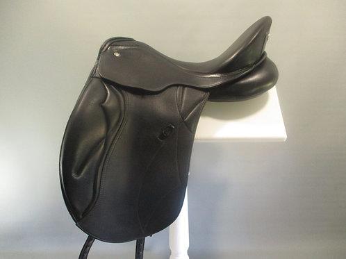 "Kieffer Ascona DP Dressage Saddle 17"" M"