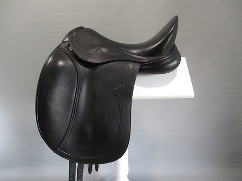 "Peter Horobin Kitzbuhel Mono Flap Dressage Saddle 17"""