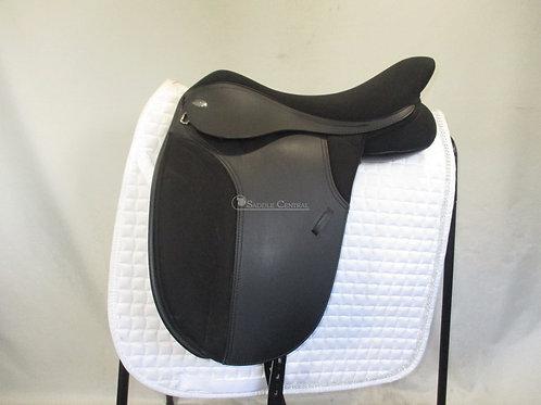 """Thorowgood T4 Cob Dressage Saddle 17"""""""