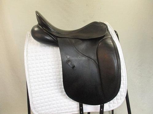 """Peter Horobin Amazone Dressage Saddle 17.5"""""""