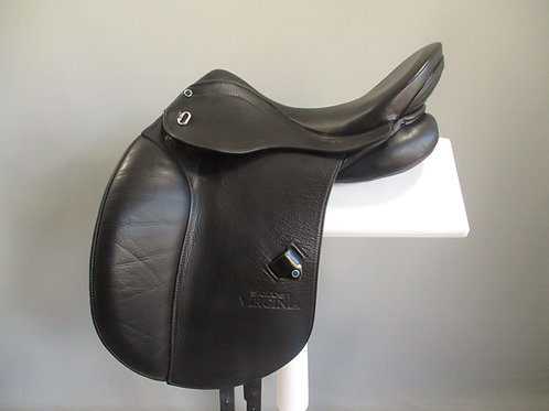 "Stubben Virginia Dressage Saddle 17.5"" W"