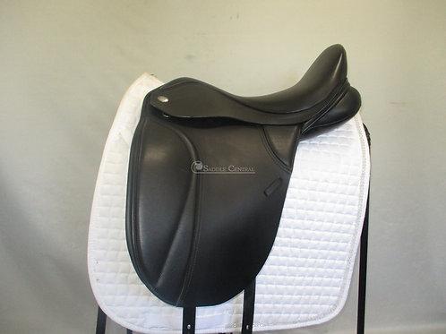 """Thorowgood T8 Dressage Saddle 17.5"""""""