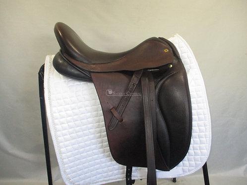 """Black Country Eden 17"""" Dressage Saddle"""