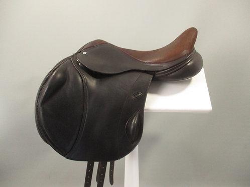 """Loxley Monoflap Jump Saddle  17"""" XXW/XXXW"""