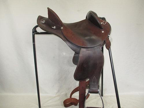 "Kent Equaliser Half Breed Saddle 12.5"" with Matching Breastplate"