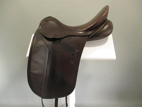 "Peter Horobin Classic Dressage / Show Saddle 17"" M-MW"