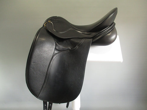 "Peter Horobin Amazone Dressage Saddle 17"" W"