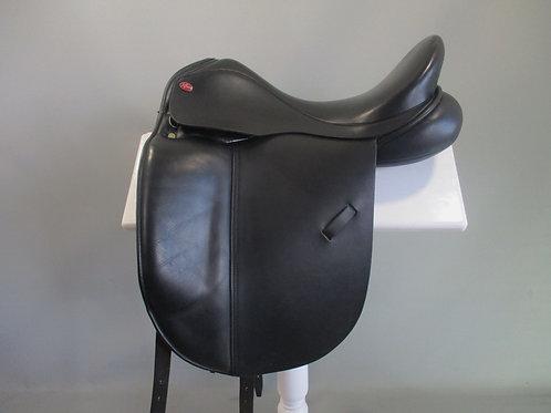 """Jeffries Dressage Saddle 17.5"""" M - MW"""