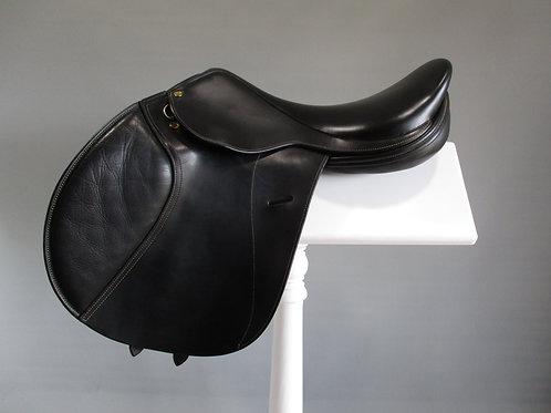 "Frank Baines Reflex Jump Saddle 17.5"" MW"