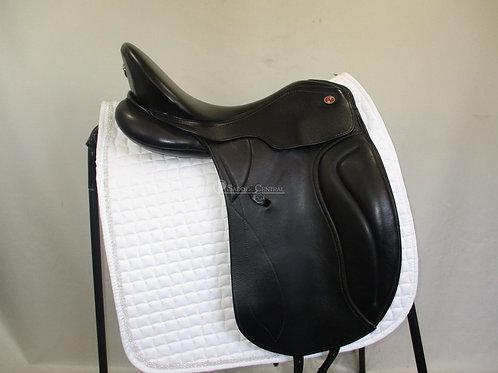 "Kieffer Paris Dressage Saddle size 1 / 17"""