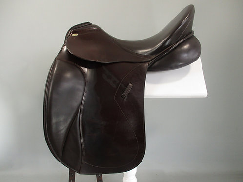 "Kentaur Elektra Dressage Saddle 18"" MW-W"