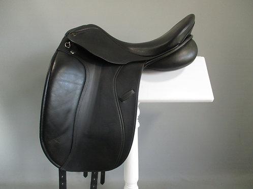 "Pessoa Euro DL Dressage Saddle 17.5"""