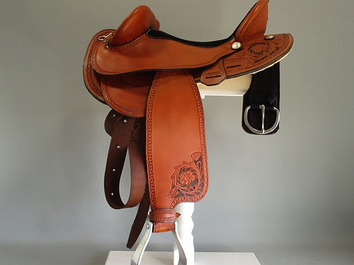John Shortt Half Breed Saddle FQHB