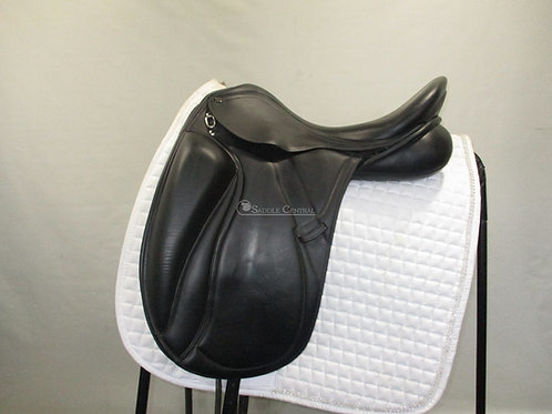 "PDS Grande Mono Flap 17.5"" Dressage Saddle"
