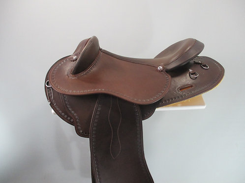 Syd Hill Half Breed Saddle with Changeable Gullet