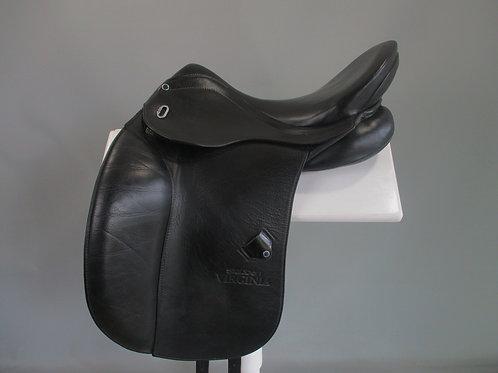 "Stubben Virginia Dressage Saddle 17 / 17.5"" W"