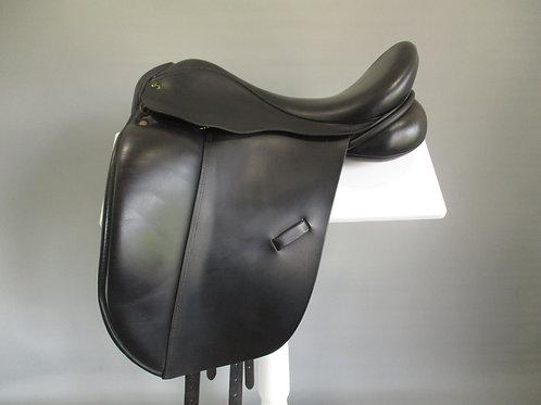 "Ideal Suzannah Dressage Saddle 17.5"" W"